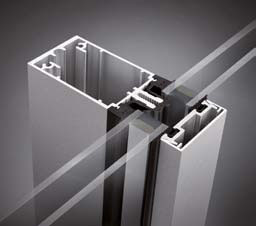 an example of a THERM+ A-I Aluminium system