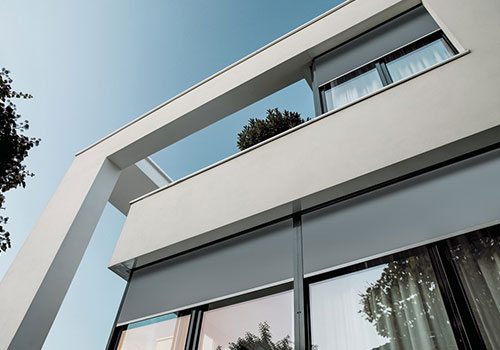 An example of external shading