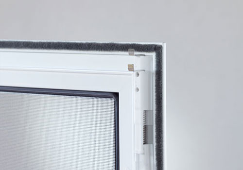 An example of a fly screen