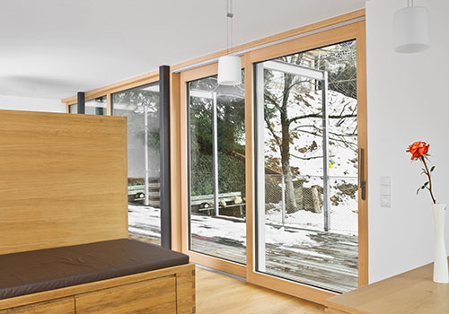 An example of windows and doors